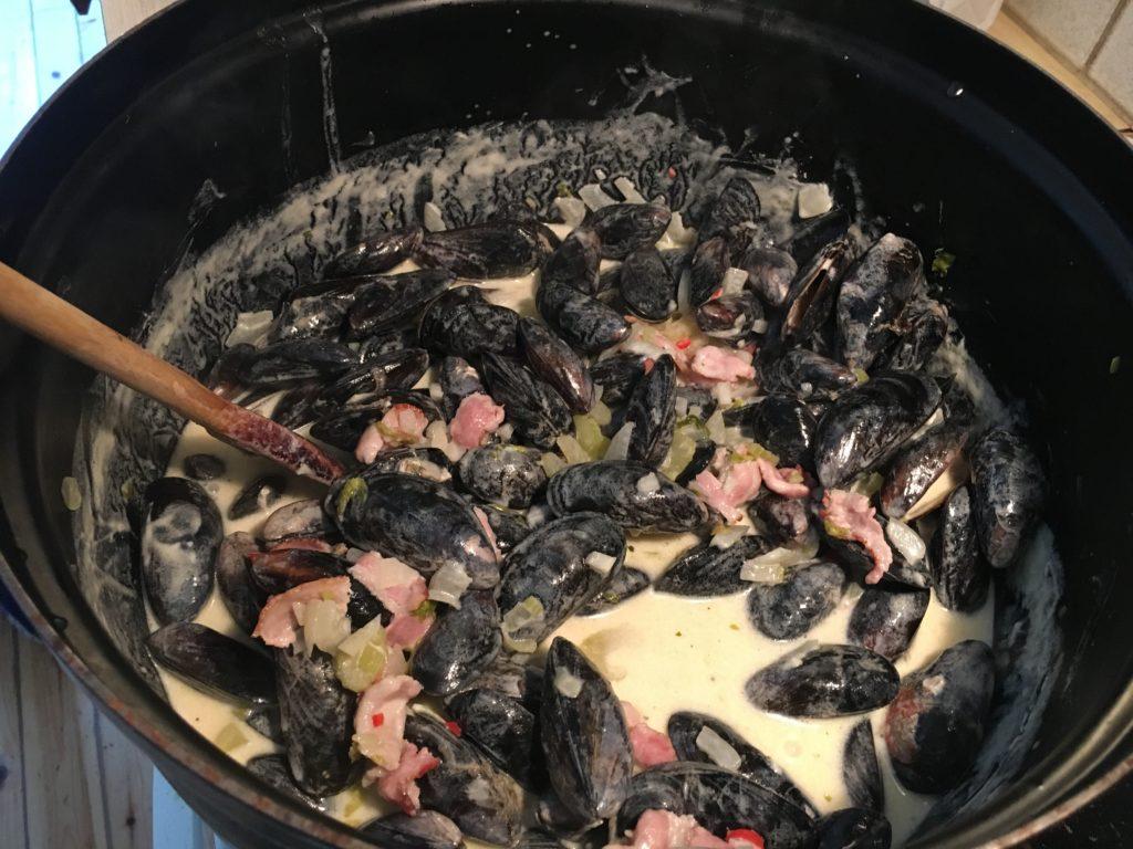 Fantastiska musslor!